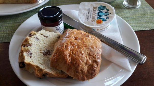 Tea on the Green Scone