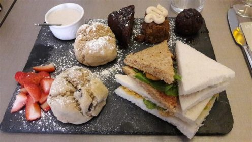 Nosh Garden Kitchen Afternoon Tea