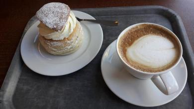 Aso Semla and Coffee