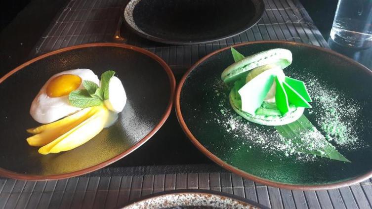 Sticky Mango Desserts