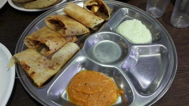 Chai Paani Chilli Paneer Dhosa