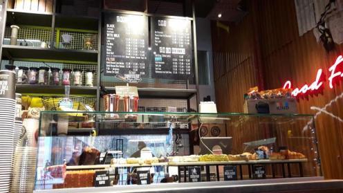 Black Sheep Coffee Interior