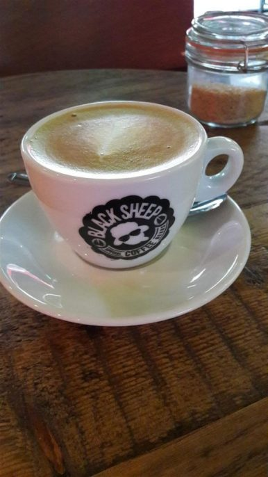 Black Sheep Coffee Oat Flat White