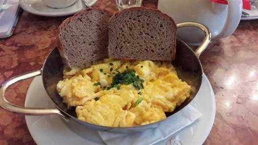 Demel Eggs and Bread