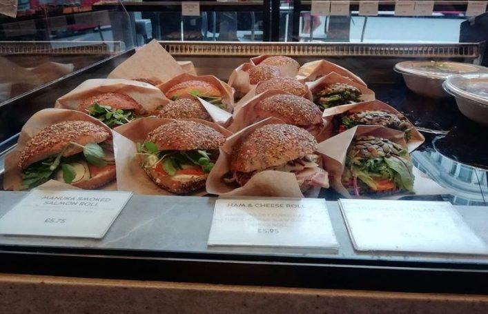 Ole & Steen Sandwiches
