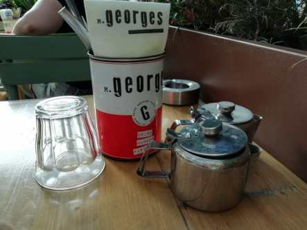 Monsieur Georges Table Setting