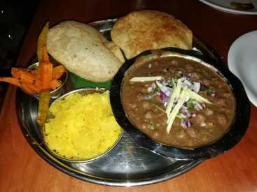 Dishoom Chole Puri