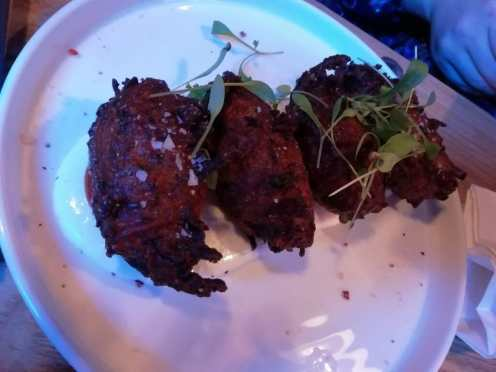 Brother Marcus Courgette Fritters