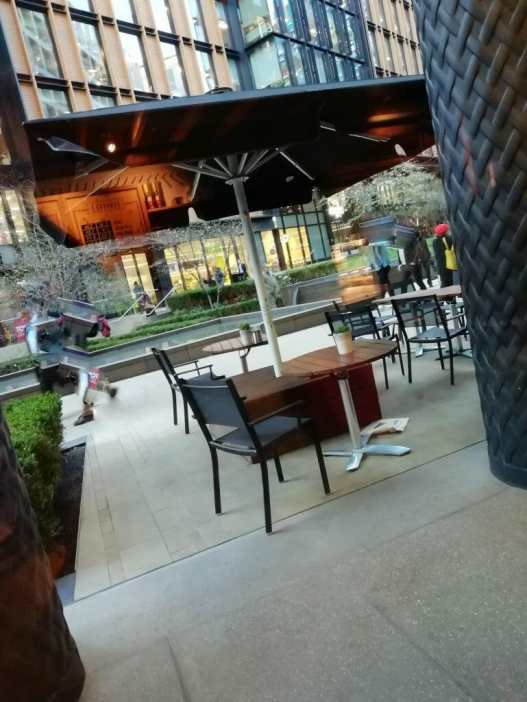 Notes Outdoor Seating