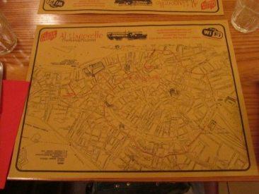 Al Vaporetto Map