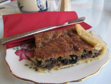 Bliss Lane Tea Room Currant Slice