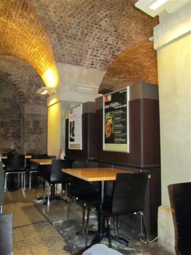 Cafe in the Crypt Interior