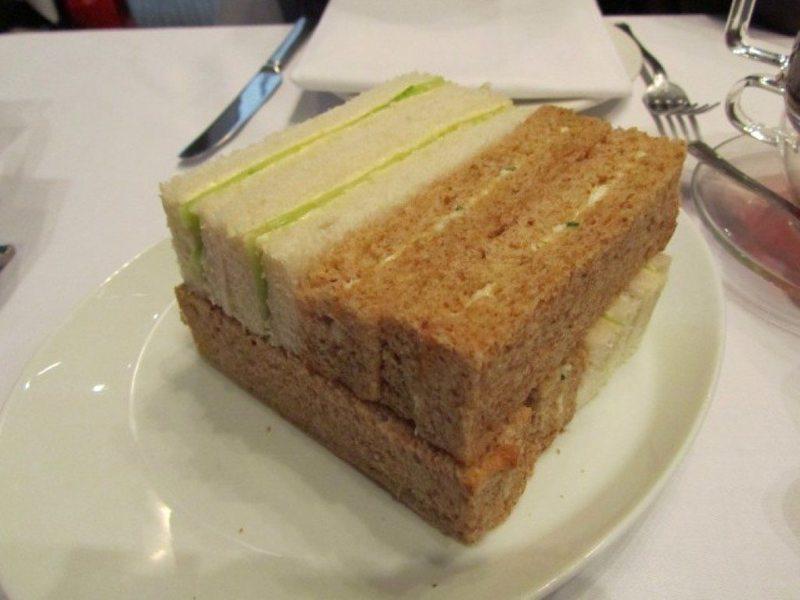 Number Twelve Finger Sandwiches