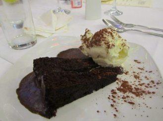 Hot Chocolate Fudge Cake