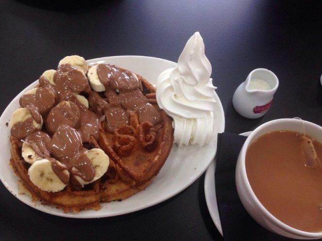 Sprinkles Nutella & Cookie Waffle