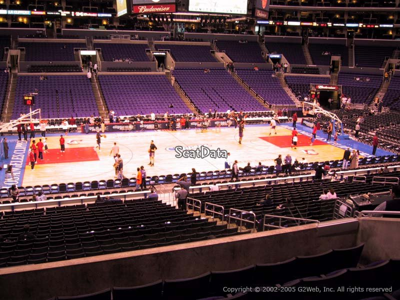 Seating Angeles Los Clippers