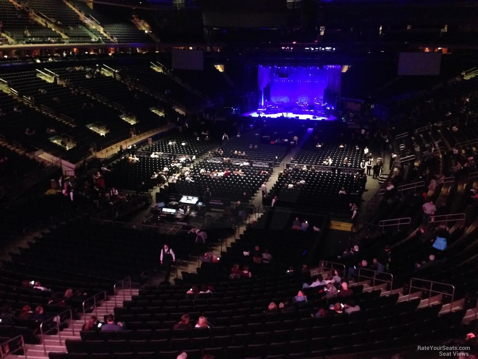 Madison Square Garden Section 205 Concert Seating