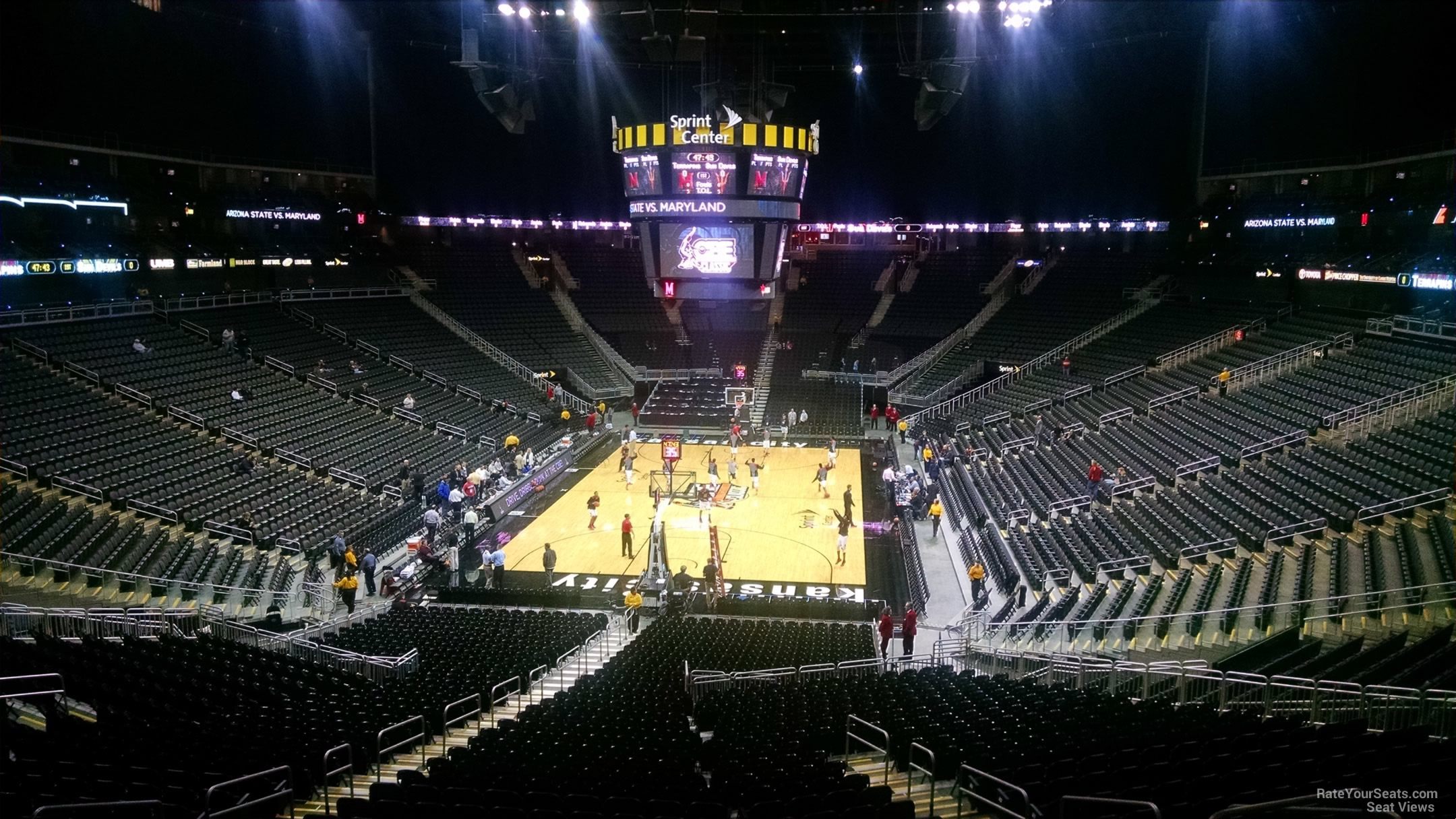 Sprint Center Section 122 Basketball Seating