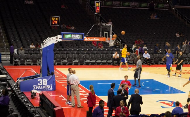 Staples Center Section 103 Clippers Lakers