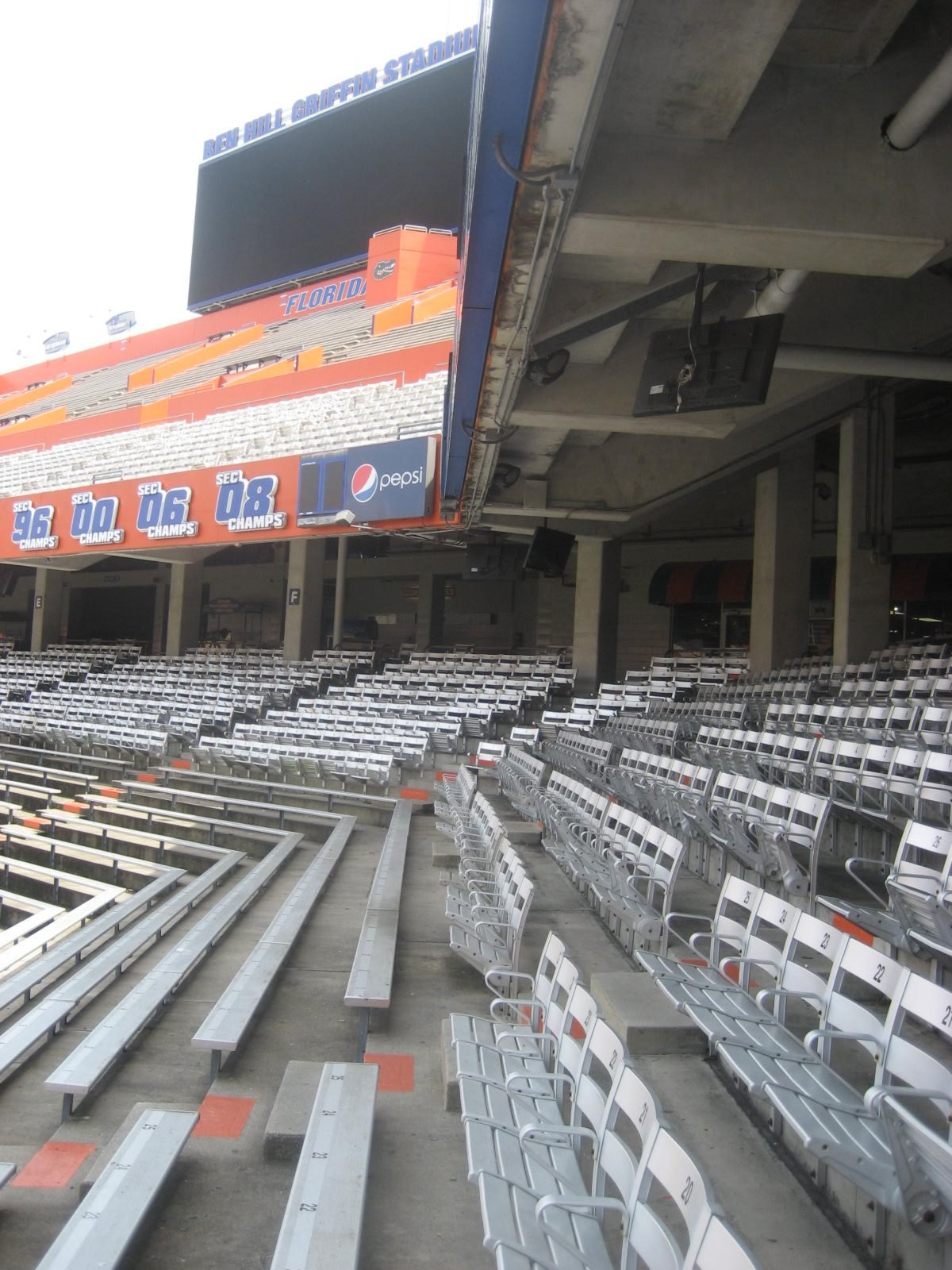 Ben Hill Griffin Stadium Seating Chart : griffin, stadium, seating, chart, Griffin, Stadium, Seating, Florida, Football, RateYourSeats.com