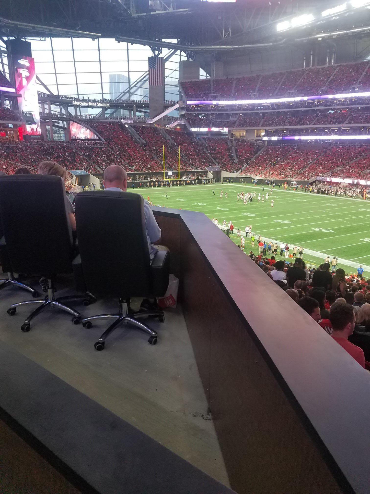 Georgia Dome Seating Map : georgia, seating, Mercedes-Benz, Stadium, Seating, Falcons, Games, RateYourSeats.com