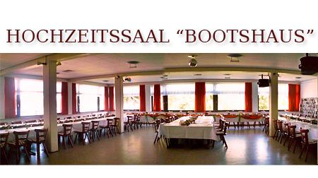 Festsaal Bootshaus in Bonn  Umgebung Euskirchen Siegburg Troisdorf  Hochzeitssaal