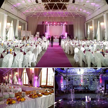 Festsaal La Victoria in Marl  Raum Herne Gladbeck Essen  Hochzeitssaal Hochzeitshallen