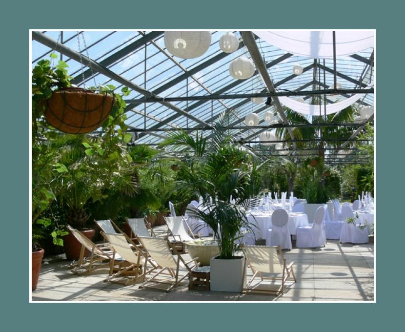 Glashaus in Karben  Hochzeitslocation nahe Frankfurt am