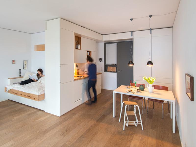 Kleine Wohnung einrichten So kommt die Einzimmerwohnung gro raus