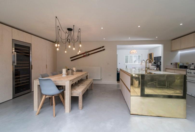 Open plan kitchen refurb