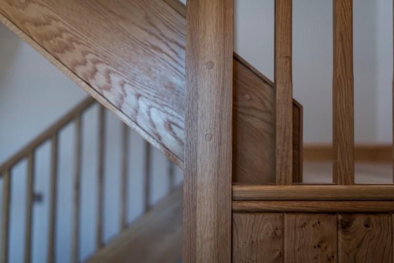 Bespoke, handmade staircase