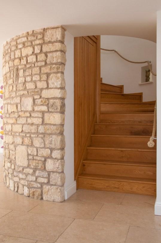 Old Coachouse renovation - new staircase
