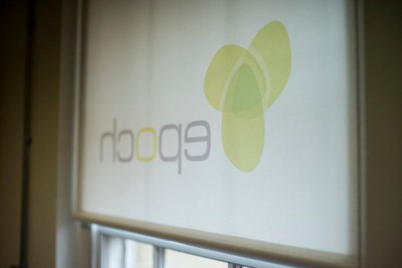 Logo designed blinds@ office