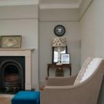 Vintage furniture, modern floors