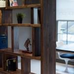 Bespoke handmade bookcase