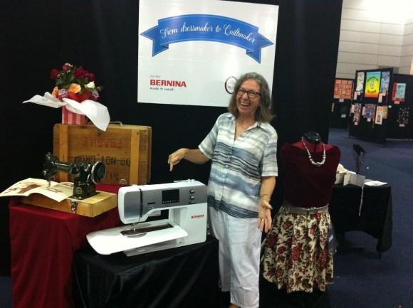 This wonderful Bernina 720 Sewing machine!! LOVE BERNINA