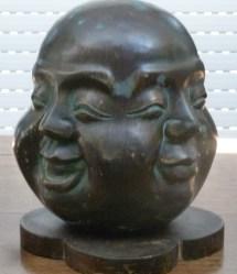 Four-faced Buddha Head