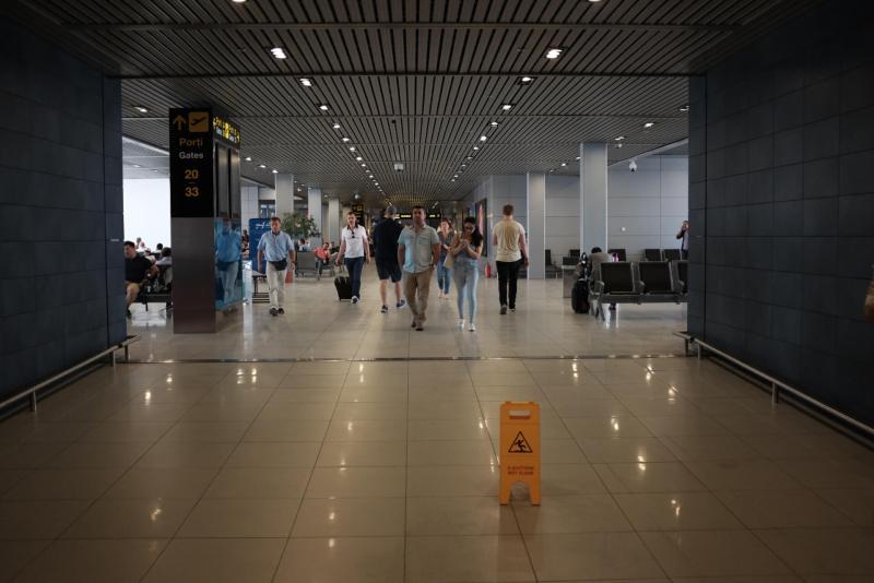 Flughaven Bukarest Transitbereich
