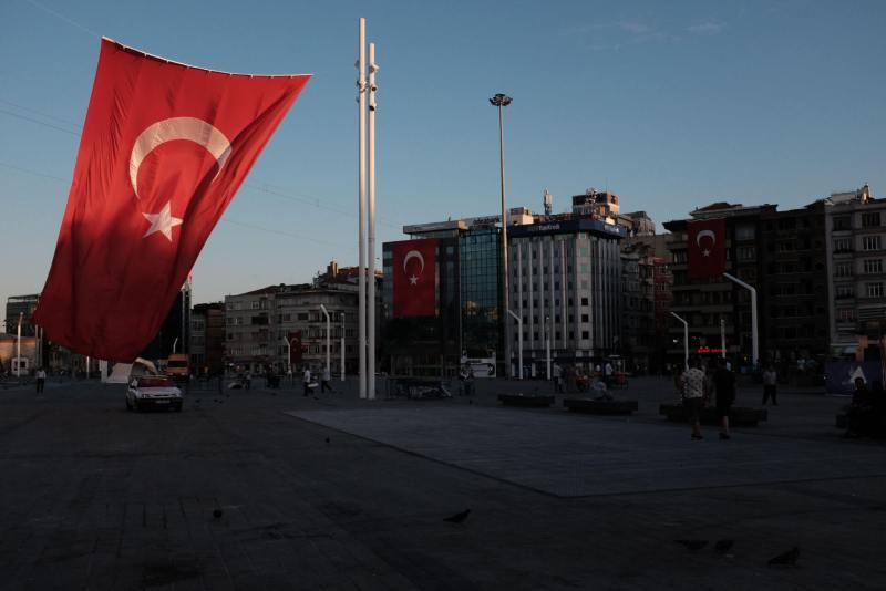 Taksim Platz 19.07.2016 - Leer