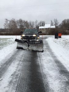 Winter snow and ice removal service