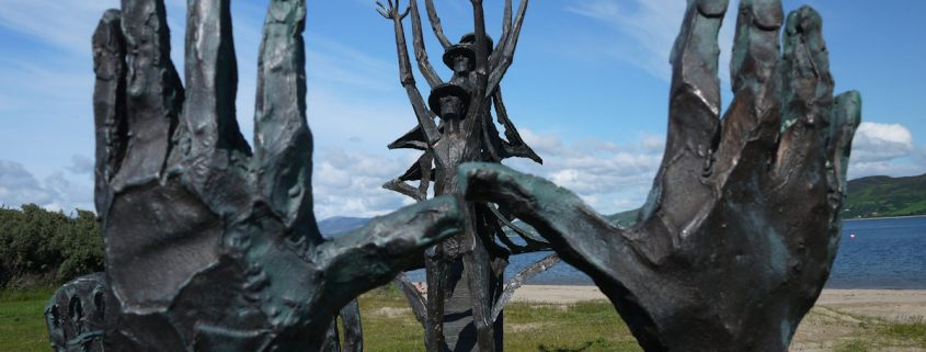 Flight of the Earls Sculpture Rathmullan