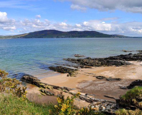 Kinnegar Beach and Lough Swilly