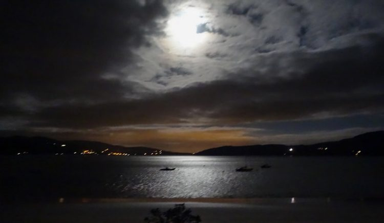 Full Moon over Lough Swilly