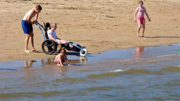 Rathmullan Beach Wheelchair 2