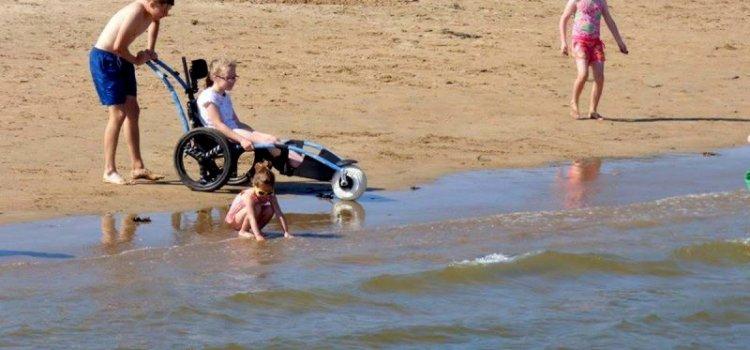 Rathmullan Beach Wheelchair