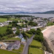 Aerial view Rathmullan