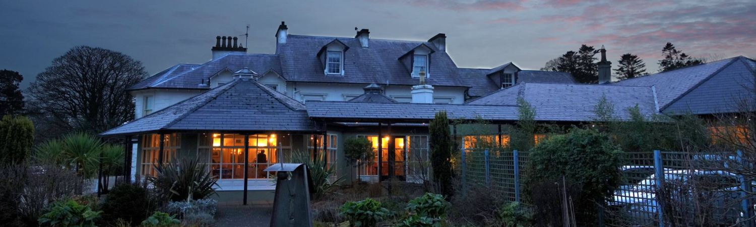 Twilight at Rathmullan House Donegal