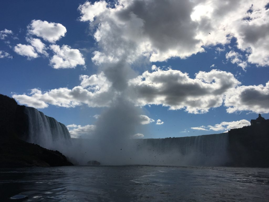Ниагарский водопад. Подкова.