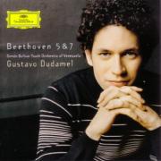 グスターボ・ドゥダメル指揮/シモン・ボリーバル・ユース・オーケストラ・オブ・ベネズエラ/ベートーヴェン:交響曲第5番「運命」&第7番