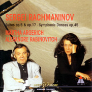 ラフマニノフ:2台のピアノのための組曲第1番&第2番、交響的舞曲
